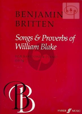 Songs & Proverbs of William Blake op.74