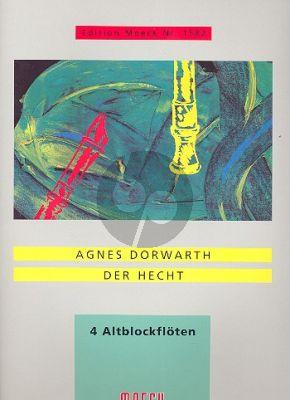 Dorwarth Der Hecht 4 Altblockflöten (4 Spielpart.)