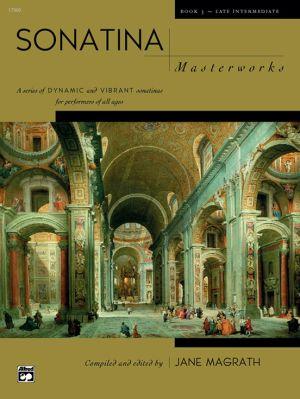 Sonatina Masterworks Vol. 3 Piano solo (edited by Jane Magrath)