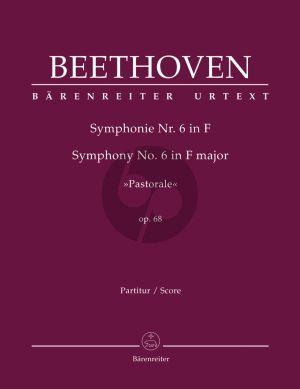 "Beethoven Symphony No.6 F-major Op. 68 ""Pastorale"" Full Score"