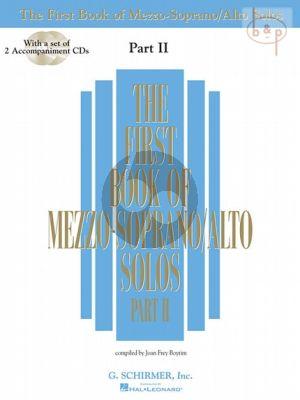 First Book of Mezzo-Soprano/Alto Solos Vol.2