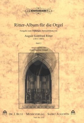 Ritter - Album für die Orgel Band 2 . Fantasien, Postludien und Fugen (Ped.)