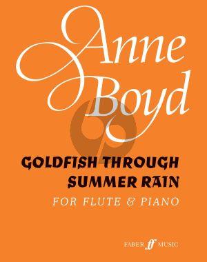 Goldfish through summer rain Flute and Piano