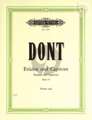 24 Etuden und Capricen Op.35 Violin