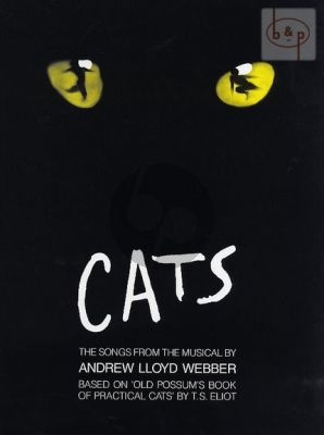 lloyd Webber Cats (The Songs from the Musical) Piano-Vocal-Guitar