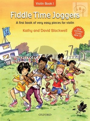 Blackwell Fiddle Time Joggers (A First Book of Very Easy Pieces for the Violin) Book with Cd (Revised Edition)