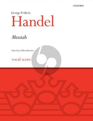 Handel Messiah (SATB soli-SATB-Orch.) (Vocal Score) (English Texts) (edited by Clifford Bartlett)