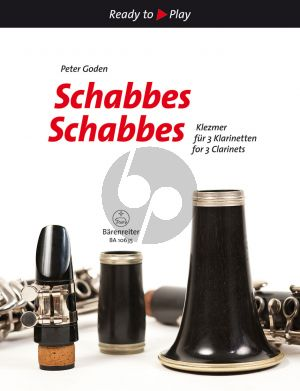 Schabbes Schabbes (Yiddish Songs) 3 Clarinets (arr. Peter Goden)