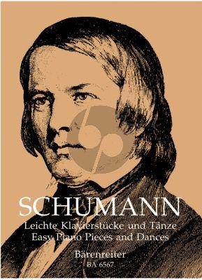 Schumann Leichte Klavierstucke und Tanze (Easy Piano Pieces)