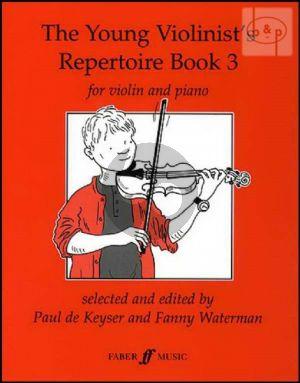 Young Violinist's Repertoire Book Vol.3