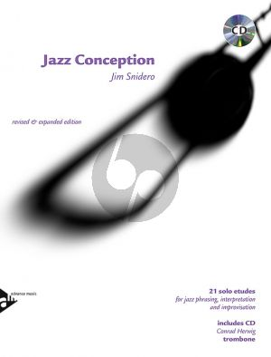 Snidero Jazz Conception Trombone (21 Etudes for Jazz Phrasing, Interpretation, Improvisation) (Bk/Cd)