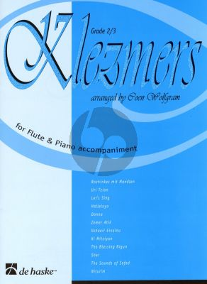 Klezmers for Flute and Piano (arr. Coen Wolfgram) (grade 2 - 3)