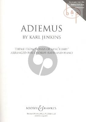 Jenkins Adiemus Songs of the Sanctuary (SATB-Piano)