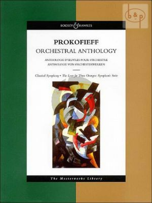 Prokofieff Orchestral Anthology Full Score