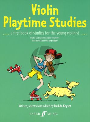 Violin Playtime Studies (a first book of studies for the young violinist) (Really Easy Studies for the Young Violinist)