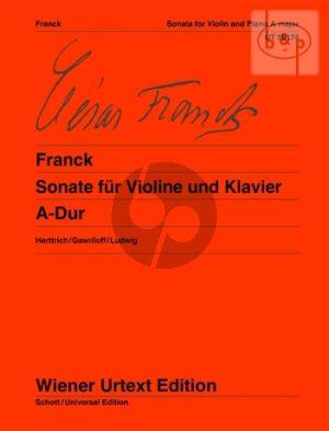 Sonata A-major Violine - Klavier