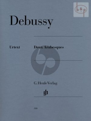 Debussy 2 Arabesques Piano solo (edited by E.G.Heinemann) (Henle-Urtext)