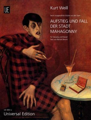 Weill 6 Stücke aus Aufstieg und Fall der Stadt Mahagony Gesang-Klavier