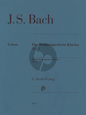 Bach Wohltemperierte Klavier Vol. 1 BWV 846 - 869