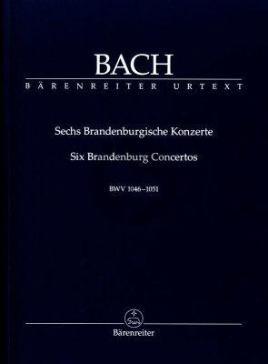 Bach 6 Brandenburgische Konzerte BWV 1046 - 1051 (Studienpartitur) (Heinrich Besseler)