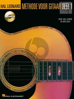 Hal Leonard Methode voor Gitaar Vol.1