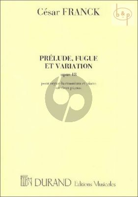 Prelude-Fugue & Variation 2 Piano's