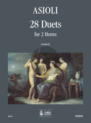 Asioli 28 Duets for 2 Horns (edited by Igino Conforzi)
