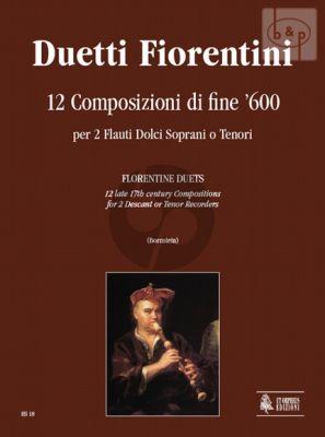 Duetti Fiorentini 2 Descant [Tenor] Recorders