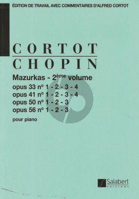 Mazurkas Vol.2 Op.33 -Op.41 -Op.50 et Op.56 Piano