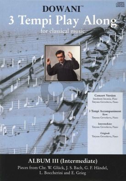 Dowani Album Vol.3 (Intermediate) (Solo Part-CD) (Dowani)
