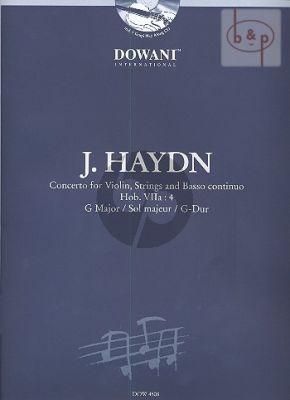 Concerto G-major Hob.VIIa:4 (Violin-Str.-Bc.) (piano red.)