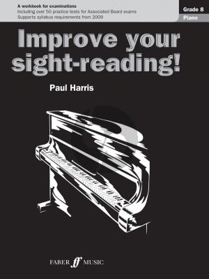 Harris Improve your Sight-Reading Piano Grade 8 (A Workbook for Examinations)