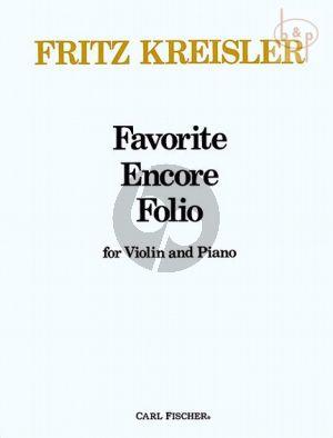 Favorite Encore Folio