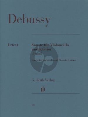 Sonata d-minor Violoncello-Klavier (Henle-Urtext)