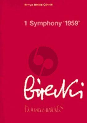 Gorecki Symphony No.1 Op.14 Study Score (1959)