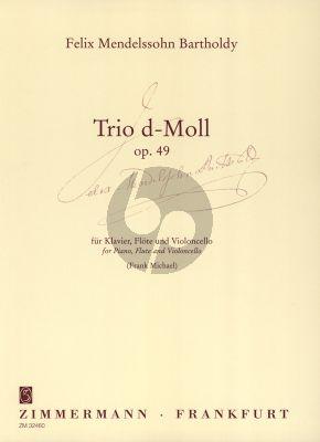 Mendelssohn Trio d-moll Op.49 Flöte-Violoncello-Klavier (Frank MIchael)