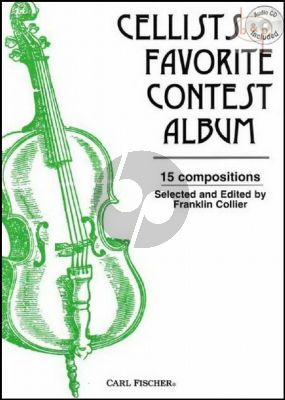 Cellists Favorite Contest Album (Book-Online Audio)