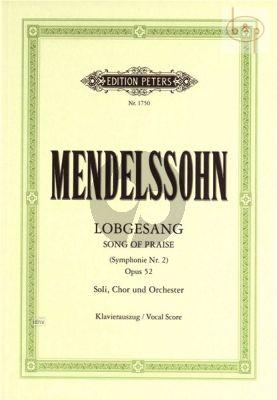 Lobgesang (Symphonie-Kantate) Op.52 (MWV A18) (Soli-Choir-Orch.)