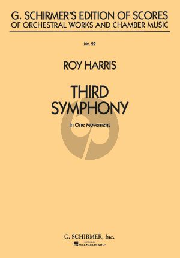 Harris Symphony No. 3 (In one Movement) (Study Score)