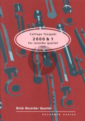 Tsoupaki 2000 & 1 4 Recorders (Score/Parts) (1999)