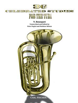 Bousquet 36 Celebrated Studies for Tuba (edited by Peter Popiel (transcr. by Matthew Wilson)