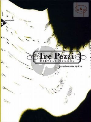 Tre Pezzi Op.81E