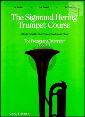 Trumpet Course Vol.3 The Progressing Trumpeter