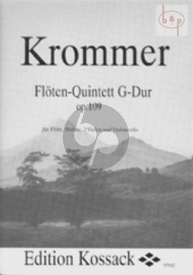 Quintet G-major Op.109