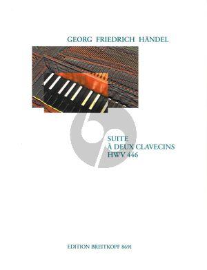 Handel Suite c-moll HWV 446 2 Cembali (Donald Burrows)