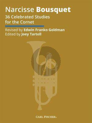 Bousquet 36 Celebrated Studies for Cornet (Goldman)