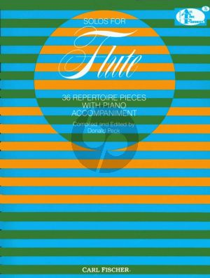 Solos for Flute (36 Repertoire Pieces) (compiled and edited by Donald Peck)