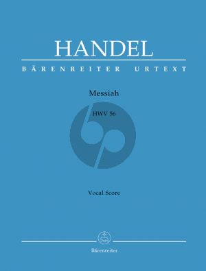 Handel Messiah HWV 56 Vocal Score (English)
