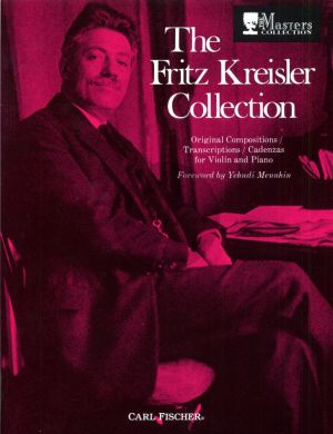 Kreisler Fritz Kreisler Collection Vol.1 Violin and Piano