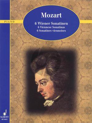 Mozart 6 Wiener Sonatinen Klavier (Monika Twelsiek)